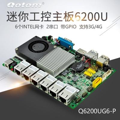 微型工控主板 Q6200UG6-P